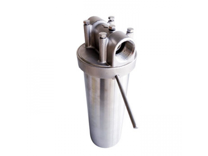 Single filter stainless steel mesh filter for juice/beverage filtration