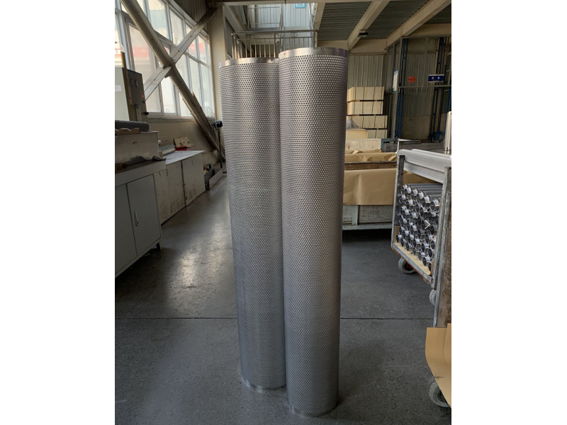 Stainless Steel Sintered Filter Element For Self-cleaning filter