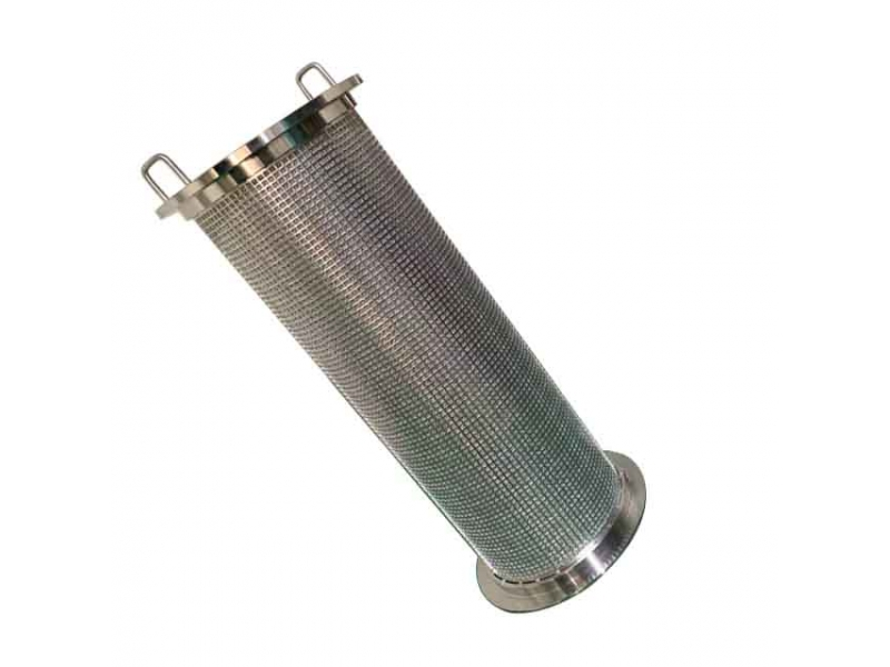 316L 50um Stainless Steel Sintered Wire Mesh Filter Element For Brush Filter Housing